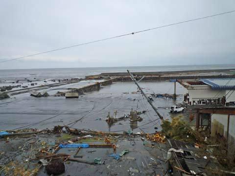 洋野町の津波