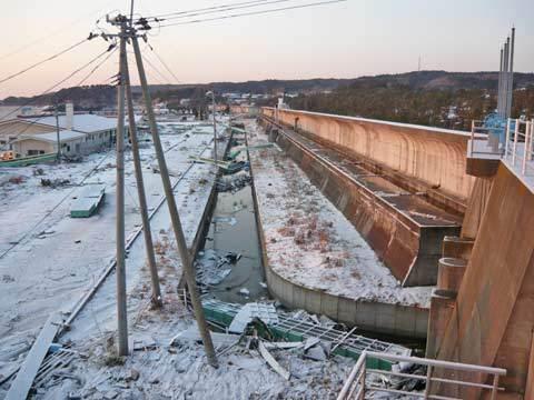 洋野町の防潮堤