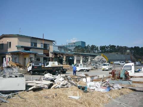洋野町の復興の様子