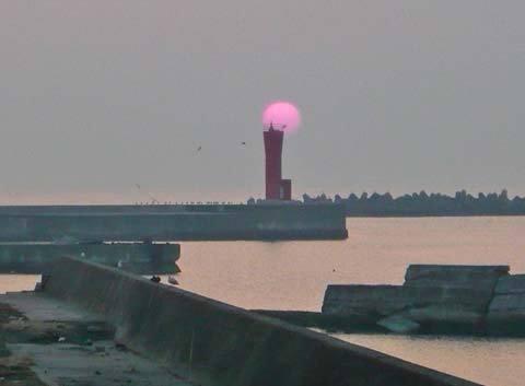 洋野町八木北の灯台
