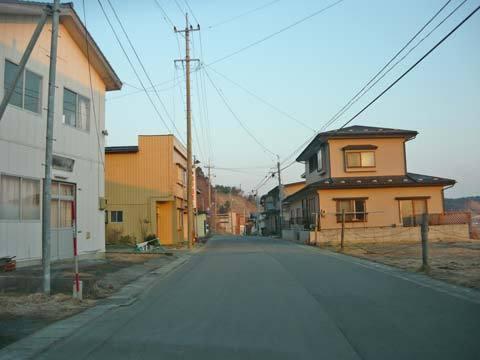 洋野町八木の町並み