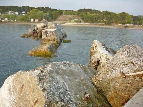 洋野町北八木漁港