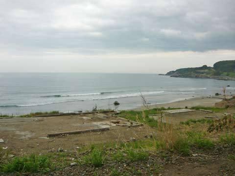 洋野町有家の海岸