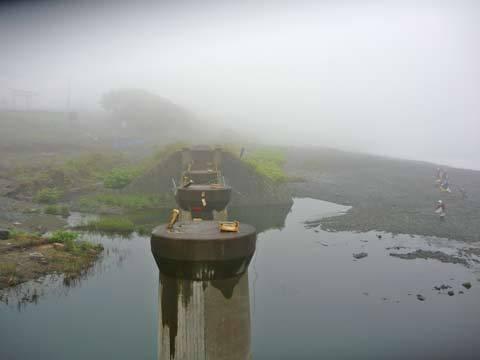 大浜の鉄橋跡