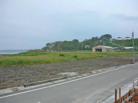 洋野町八木南漁港付近