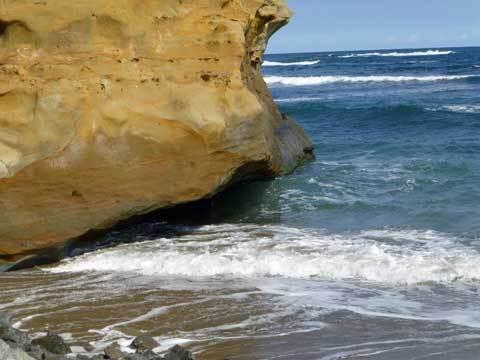 小子内の海岸