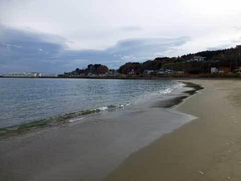 八木の海岸