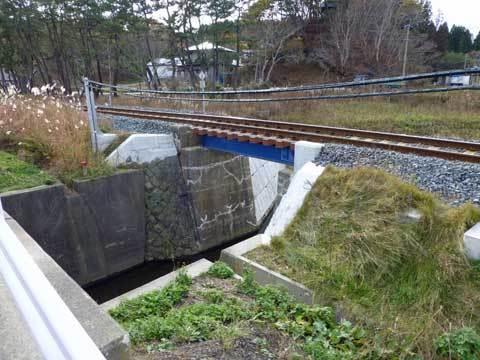 八木の鉄橋
