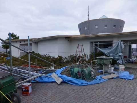 種市海浜公園復旧工事