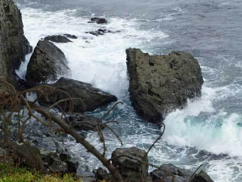 窓岩の絶景