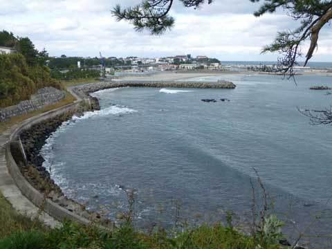 洋野町の海浜公園