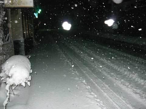 洋野町の雪