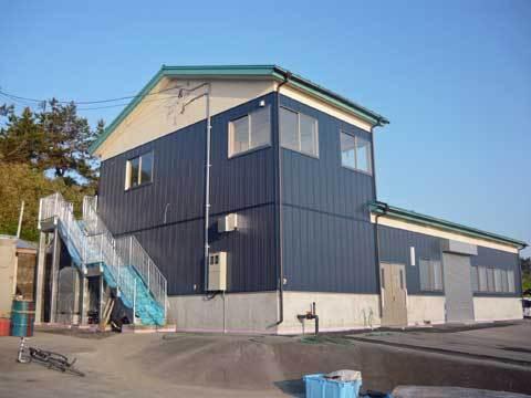 玉川漁港の荷捌き施設