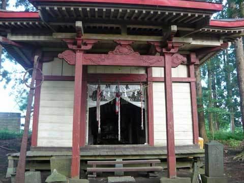 鯨洲神社の本堂