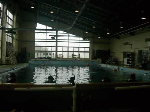 スキューバダイビング体験