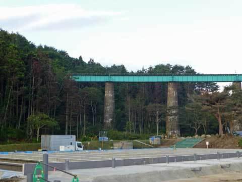 有家の鉄橋