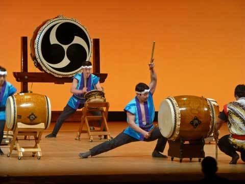 海鳴太鼓、おおの鳴雷太鼓