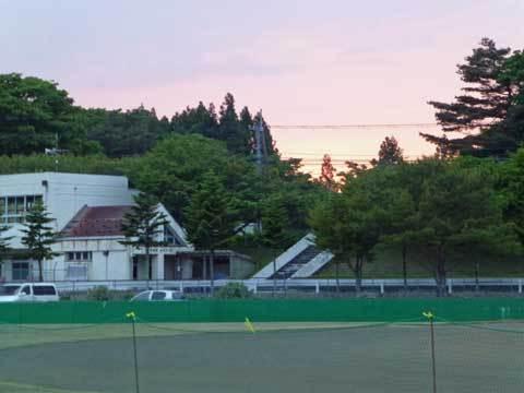 洋野町の夕日