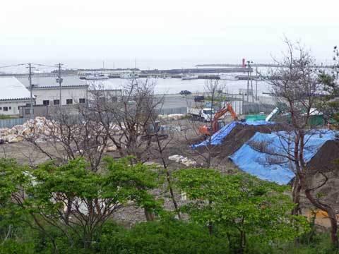 八木北港の様子