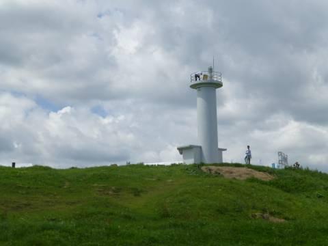 階上の灯台