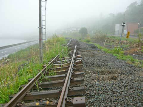被災後のJR八戸線