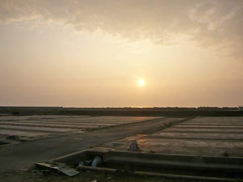 洋野町の朝日
