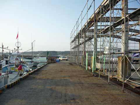 種市漁港市場