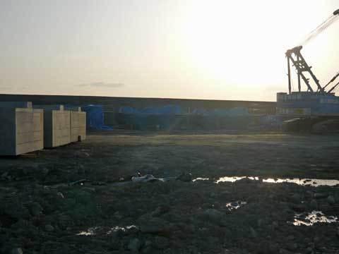 種市漁港復旧工事
