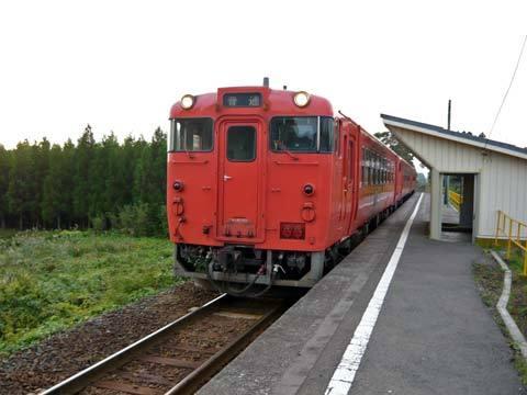 JR八戸線角の浜駅