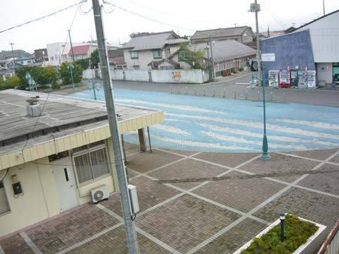 洋野町種市駅前広場