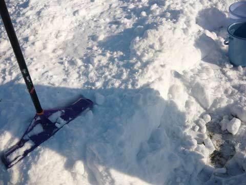 洋野町の大雪