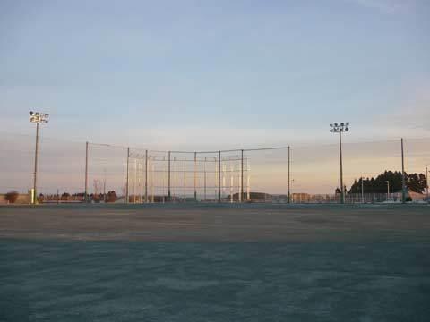 種市中学校の野球場