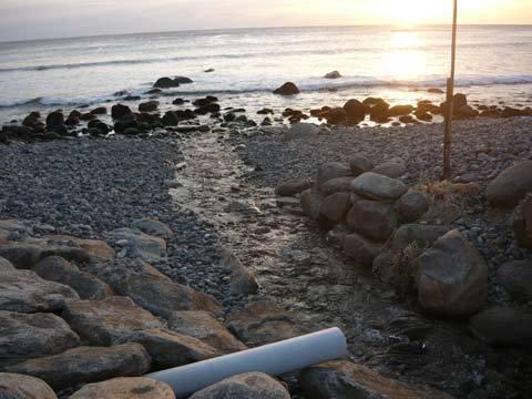 角の浜海岸