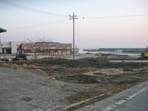 洋野町八木南の復興