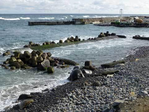 洋野町の海岸