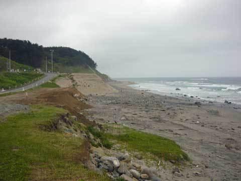 有家の海岸