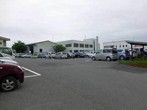 ウニまつり駐車場