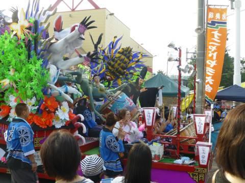 例大祭の山車