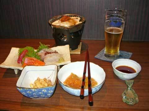 三陸居酒屋 きりやの料理