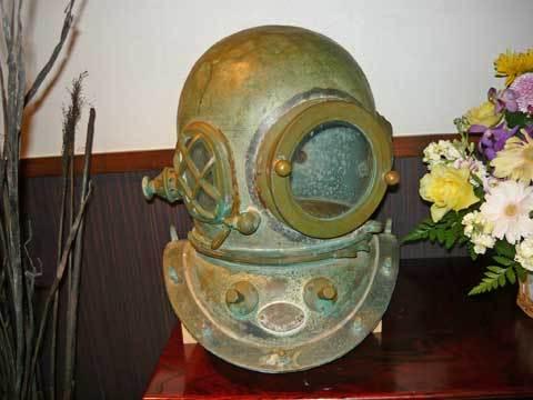 南部潜りヘルメット