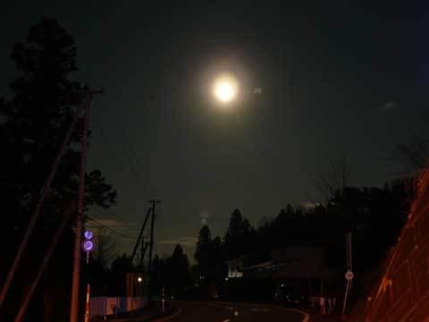 洋野町の夜